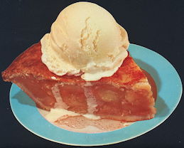 #SIGN178 - Apple Pie and Ice Cream Sign - As low as 50¢ each