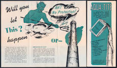 #ZZZ137 - Brochure for Aqua-Tite Waterproofing - Large devil pictured - As low as $1 each