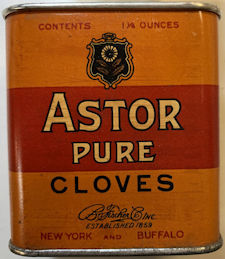 #CS430 - Full Tin of Astor Ground Cloves