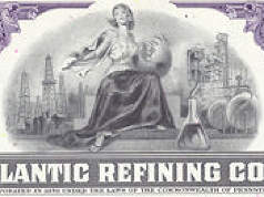 #ZZCE033 - Stock Certificate from The Atlantic Refining Company (Atlantic Richfield)