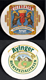 #SP079 - Ayinger Celebrator Beer Coaster - Goats