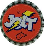 #BC021 - Group of 10 Jolt Plastic Lined Soda Caps