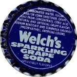 #BC019 - Group of 10 Welch's Sparkling Grape Soda Caps