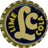 #BC047 - Group of 10 Scarce LC Lime Cola Cork Lined Soda Caps - What a deal!