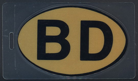 "##MUSICBP0207 - Bob Dylan ""BD"" OTTO Backstage Pass from the 1989/90 European Tour - as low as $5 each"