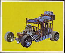 #MS265 - 1960s Bunk Bed Car Print - Jay Ohrberg