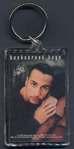 ##MUSICBG0080 - Backstreet Boys Howie Keychain - As low as $1 each