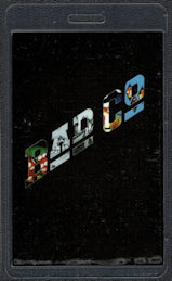"""##MUSICBP0543 - Bad Company Laminated OTTO Backstage Pass from the """"1999 Anthology"""" Tour"""