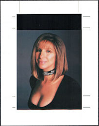 ##MUSICBG0135 - Barbara Streisand OTTO Printers Proof Sheet from the 1994 The Concert Tour