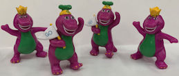 #CH492 - Group of 4 Lyons Group Early Barney Figures