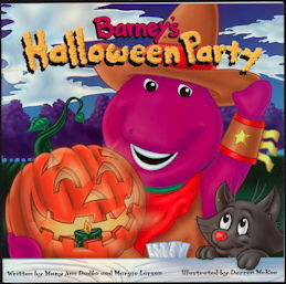 #CH409 - Licensed Barney's Halloween Party Book
