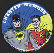 #CH324 - Large Licensed National Periodicals Batman and Robin Society Pin