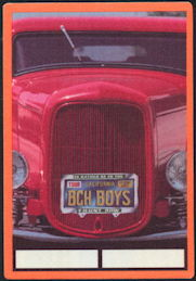 ##MUSICBP0342 - The Beach Boys Cloth Backstage Pass from the 1999 Tour