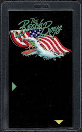 ##MUSICBP0508  - The Beach Boys Laminated Backstage Pass from the Beach Boys 1986 Tour