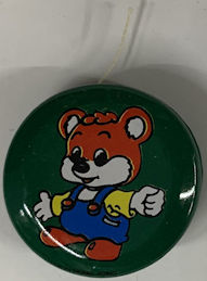 #TY811 - Tin Yo-Yo picturing Bear