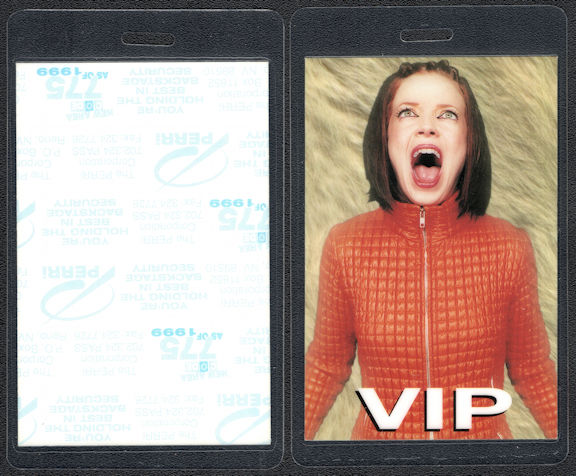 ##MUSICBP0545  - Garbage Perri VIP Backstage Pass from the Beautiful Garbage Tour
