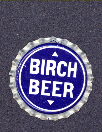 #BC107 - Group of 10 Very Old Birch Beer Soda Cap with Arrows