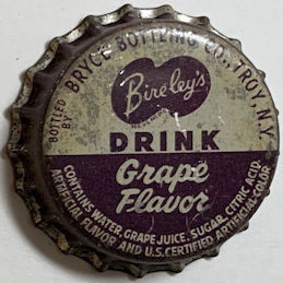 #BC201 - Group of 10 Bireley's Grape Soda Bottle Caps