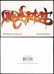 ##MUSICBG0155 - Group of 4 Limp Bikzit Licensed Stickers