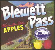#ZLC201 - Blewett Pass Apple Crate Label