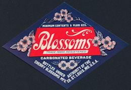 #ZLS230 - Blossoms Carbonated Soda Label