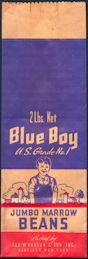 #CS073 - Blue Boy Kidney Beans Bag