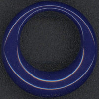 #BEADS0475 - Mod Cobalt Blue Earring Danglers - As low as 25¢
