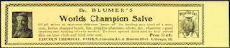 #ZBOT131 - Blumer's World Champion Salve Label for a Milk Glass Jar