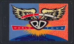 ##MUSICBP0428 - Bob Dylan Laminated Backstage Pass from the 1993 Never Ending World Tour