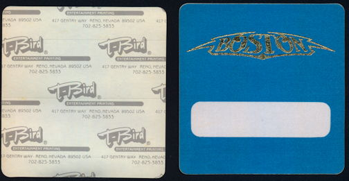 ##MUSICBP0306 - Boston T-Bird Cloth Backstage Pass from the 1994 Tour