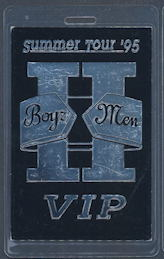 ##MUSICBP0090  - Boyz II Men Tour Summer Tour '95 Laminated Backstage Pass - As low as $2.00 each