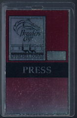 #BA715 - 1991 Churchill Downs Breeder's Cup Laminated OTTO Backstage Pass - As low as $2.00 each