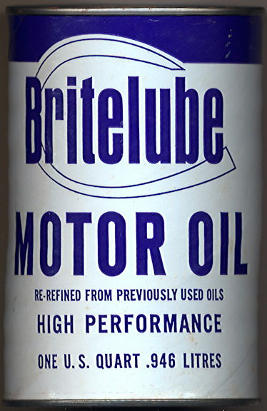 #CA023  - Britelube Oil Can Bank