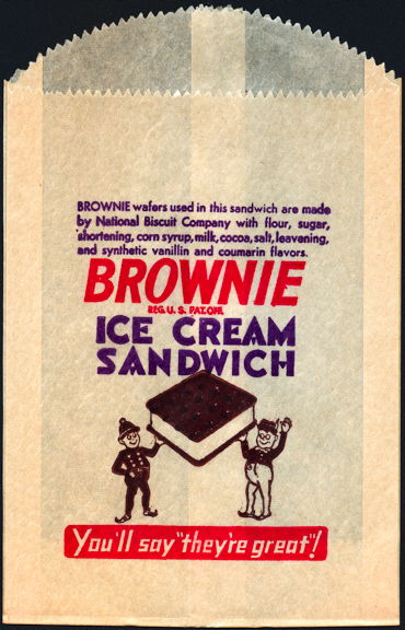 #CH001 -  Group of 3 Brownie Ice Cream Bags