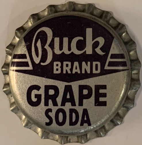 #BC197 - Scarce Buck Grape Soda Cork Lined Soda Bottle Cap