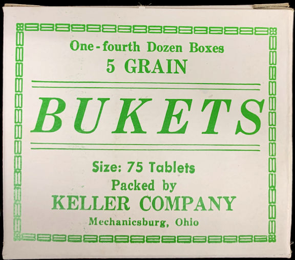 #CS441 - Bukets Five Grain Tablets Box