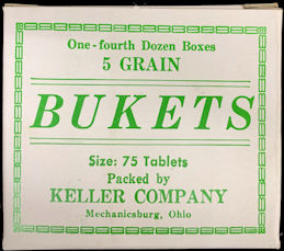 #CS441 - Bukets Five Grain Tablets Box