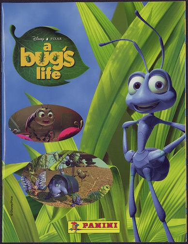 #ZZA202 - DIsney/Pixar A Bug's Life Sticker Album