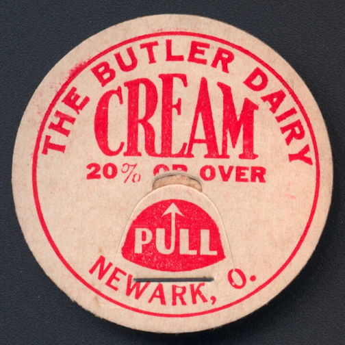 #DC179 - The Butler Dairy 20% or Over Cream Bottle Cap