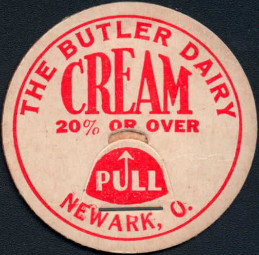 #DC201 - The Butler Dairy Cream Milk Bottle Cap