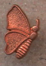 #BEADS0771 - Copper Butterfly Metal Finding - As low as 15¢ each