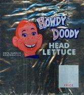 #CH095  - Howdy Doody Head Lettuce Bag