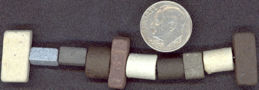 #BEADS0087 - Group of 20 Conglomerate Hippie Beads