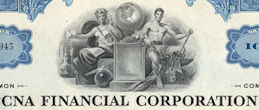 #ZZCE075 - CNA Financial Corporation Stock Certificate