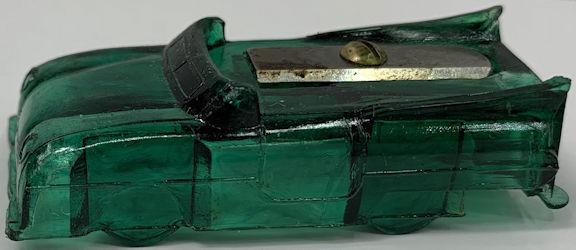 #TY373 - Figural Hard Plastic Car Pencil Sharpener