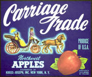 #ZLC241 - Carriage Trade Apple Crate Label