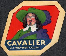 #ZLB058 - Rare Cavalier Broom Label