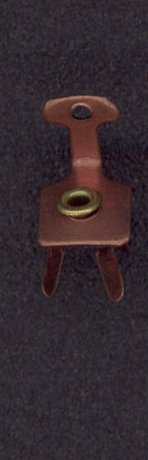 #BEADSC0246 - Copper Plated Swiveling Chair Charm