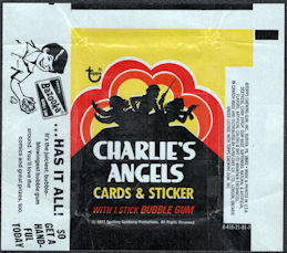 #ZZA001 - Charlie's Angels Series 1 1977 Card Wrapper