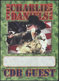 ##MUSICBP0738 - Group of 12 2010 The Charlie Daniels Band Cloth OTTO Cloth Backstage Passes